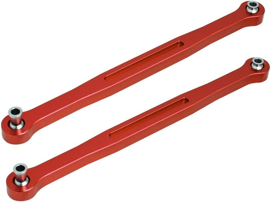 RC Tie Rod Aluminium Alloy Front Rear Servo Tie Rod for Traxxas X-MAXX 1//5 Scale RC Car