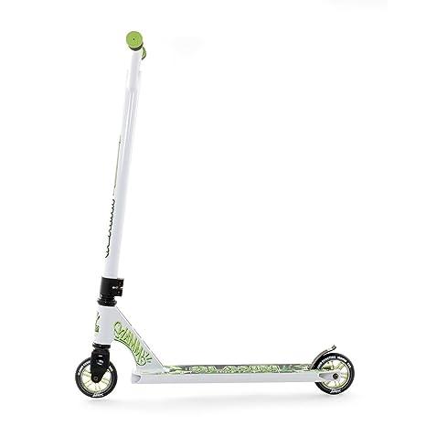 Slamm scooters patinete - XTRM II blanco/verde: Amazon.es ...