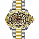 Invicta Men's 15229 Specialty Analog Display Mechanical Hand Wind Two Tone Watch, Watch Central