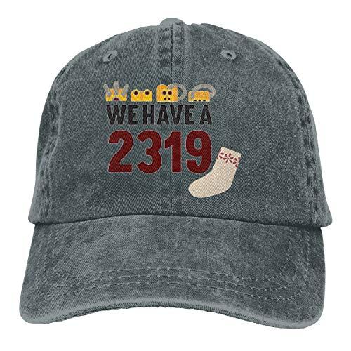2319 Monster Inc Denim Dad Hats Adjustable Baseball Cap]()