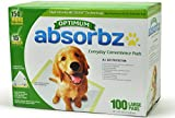 Cheap Absorbz Optimum Training Pads for Dogs, 100 ct. Large 24″x24″ Pads