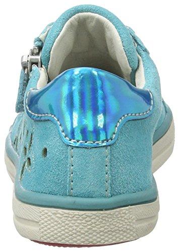 Lurchi Salina - Caña baja de cuero niña Azul (Aqua)