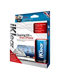 iKlear IK IPAD Kit de limpieza para iPad iPhone Empaquetado al por menor