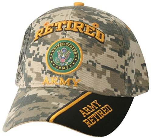 9c26d0c68cb Mitchell Proffitt Army Retired Hat-Camo Army Hat with Multiple ...
