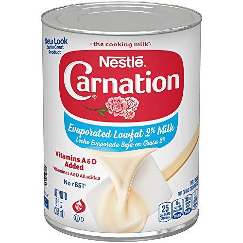 Carnation Evaporated Milk, Lowfat 2%, 12 Fl ()