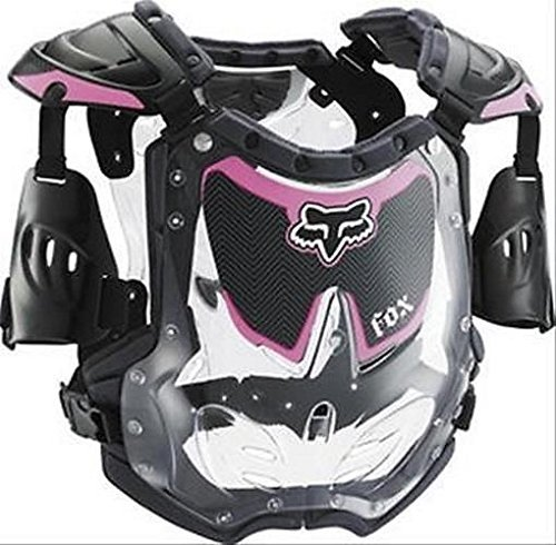 Fox Racing Girls R3 Roost Deflector chest protector Small Black/Pink #06070-285-S