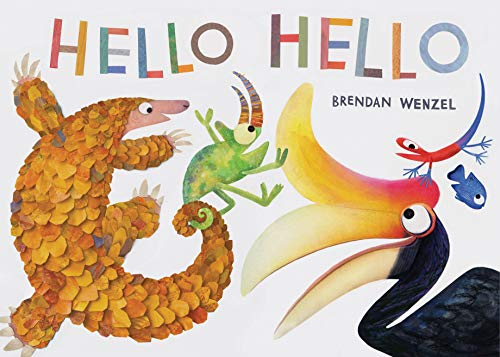 Hello Hello (Books for Preschool and Kindergarten, Poetry Books for Kids) (Names Of All National Parks In Usa)