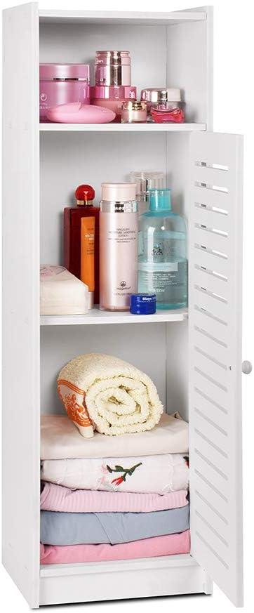 camera da letto cucina Armadietto da bagno impermeabile colore: bianco aimu corridoio da pavimento per bagno