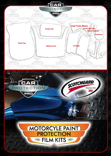 Amazon com: 3M Clear Bra Scotchgard Paint Protection for