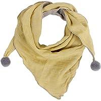 JUNGEN Bufanda para Bebé Niños Niñas, Bufanda Triangular de Algodón Suave Caliente Bufandas de Cuello para Otoño…