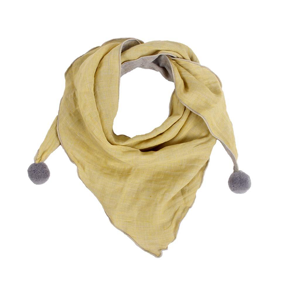Ruikey Bebé Pañuelos de Cuello Bufanda del Invierno del Otoño de los Niños Bufanda del Color Puro Ocasional de los Niños