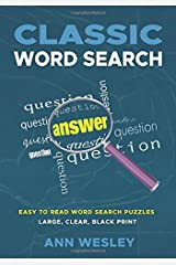 Classic Word Search Paperback