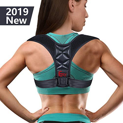 (2019 New) Posture Corrector for Women Men - Posture Brace Adjustable Back Straightener