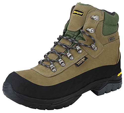 Hanagal-Mens-Hiking-Boots-Vibram-Soles-Waterpoof-Breathable-SympaTex-Liner-Nubuck-Leather-for-Backpacking-Trekking-and-Mountaineering-Tangula-Series
