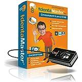 IdentaMaster Biometric Security Software with Crossmatch Digital Persona 5160 Fingerprint Reader / Encryption, PC Login for Windows 7/8/10