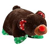 Pillow Pets Christmas Holly Bear - 16'' Limited Edition Stuffed Animal Pillow