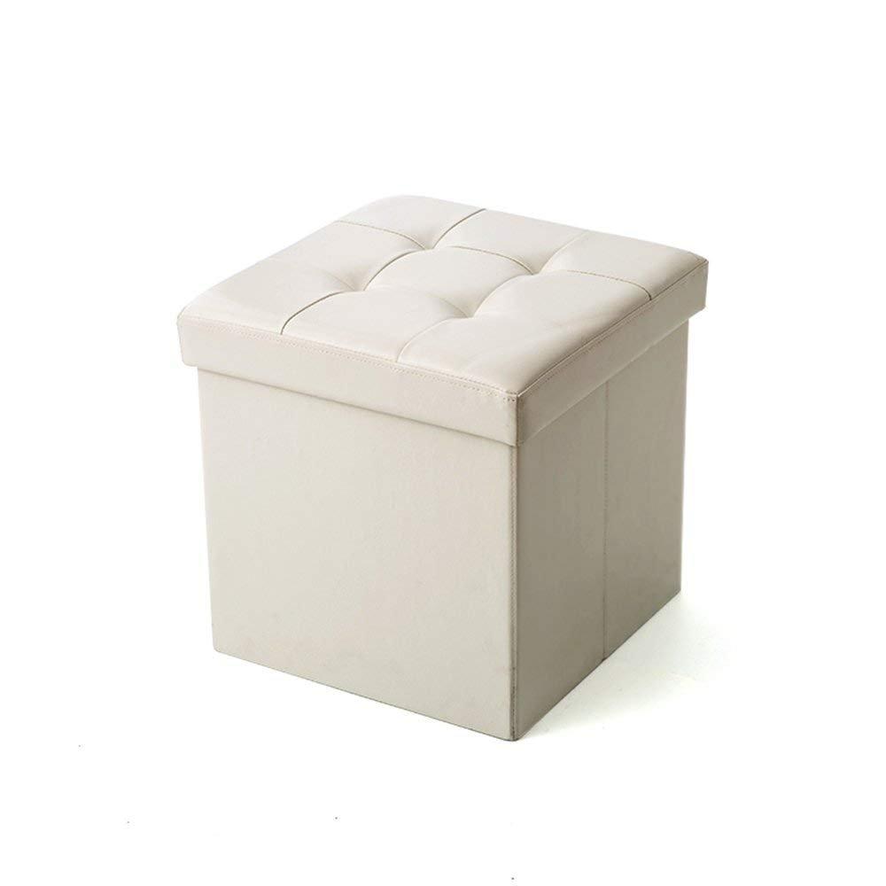 autentico en linea CWJ Taburete de sofá  el Taburete Plegable Plegable Plegable del Taburete Puede Sentarse en el Taburete del Taburete del Cambio del Taburete (Color Opcional) (tamaño Opcional)  Taburete de Almacenamiento,38  38cm, D  artículos de promoción