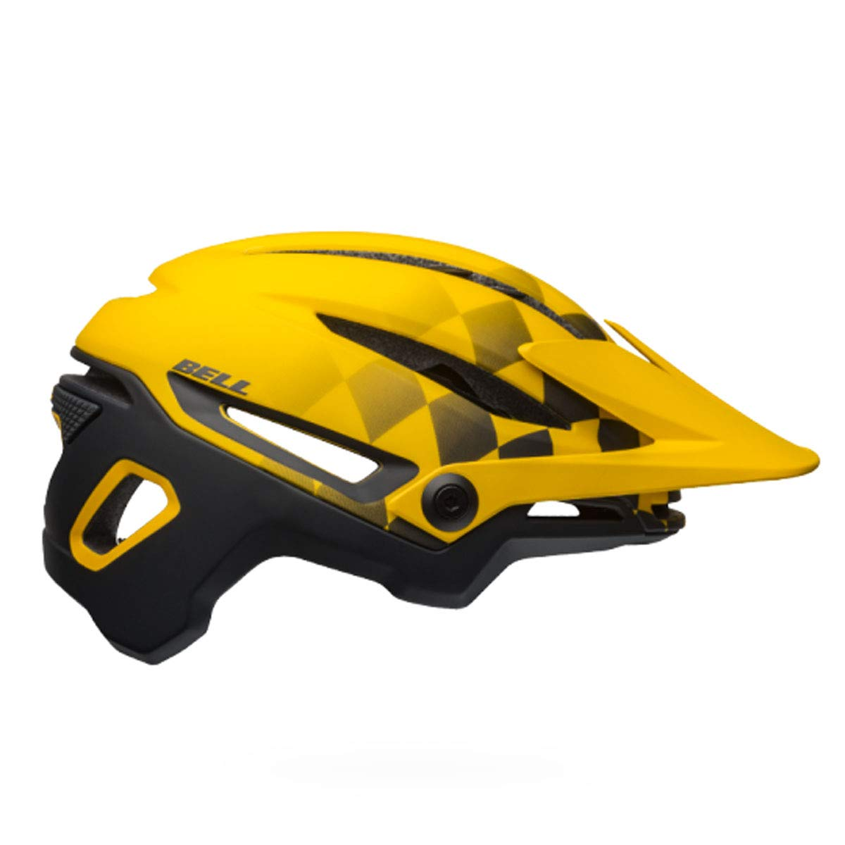 Bell Sixer MIPS Bike Helmet - Finish Line Matte Yellow/Black Small