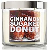 Bath and Body Works Slatkin & Co. Cinnamon Sugared Donut Scented Candle 14.5 Oz