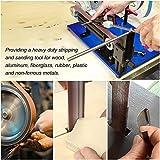HongWay 24 Pack Sanding Belts 1x30 Inches Aluminum