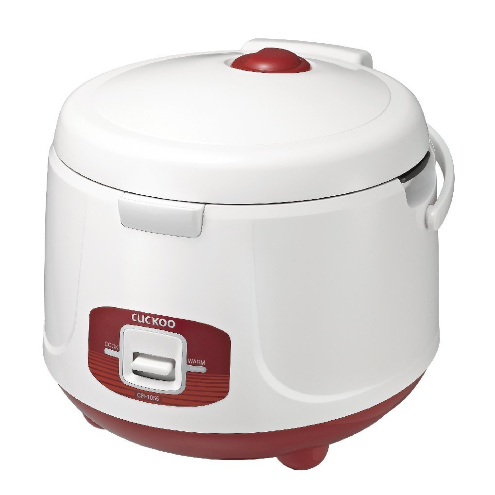 Cuckoo CR-1055 Electric Rice Cooker, 10 Cups, Red, 110v by Cuckoo Electronics   B01LZKYTW6