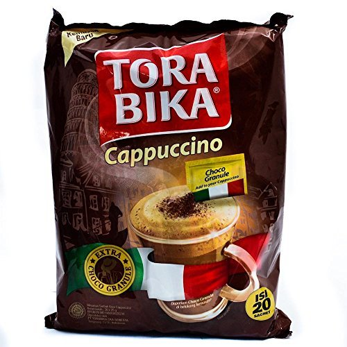 Torabika Cappuccino Instant Coffee 20-ct, 500 Gram by Torabika