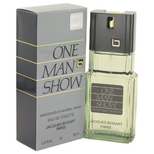 ONE MAN SHOW by Jacques Bogart Men's Eau De Toilette Spray 3.3 oz - 100% Authentic