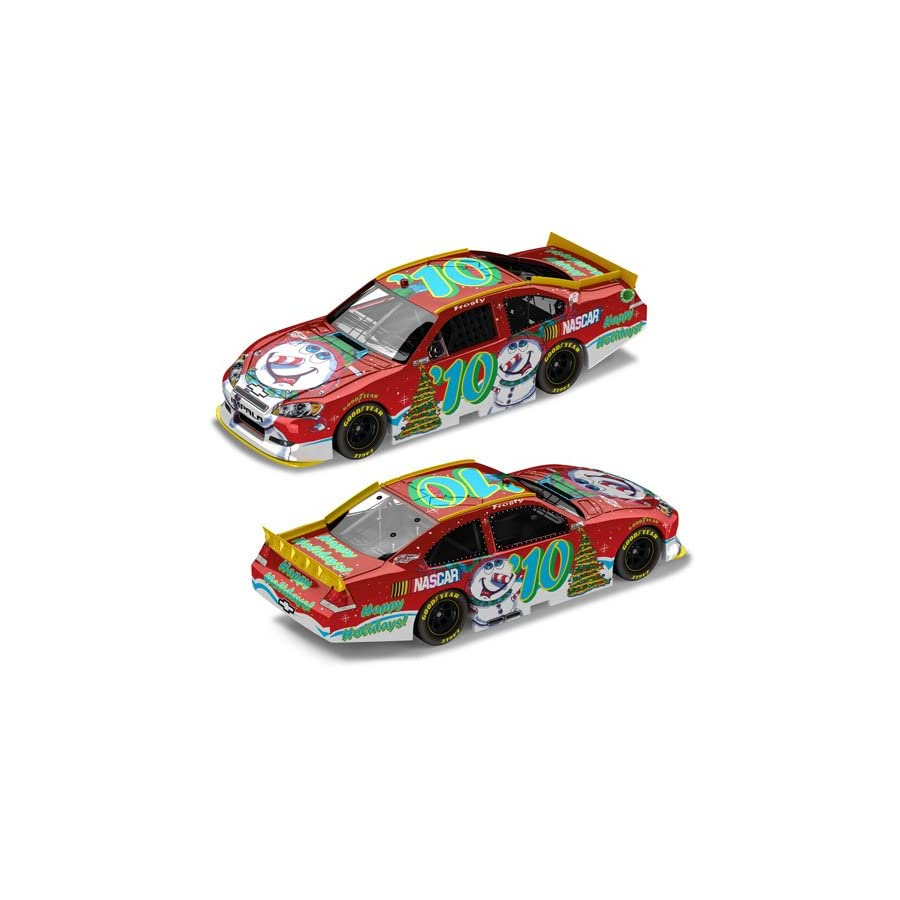 '10 Sam Bass Christmas 2010 1/64 NASCAR Diecast Pit Stop Car Chevy Impala Action Gold Series LNC Z101866SBND