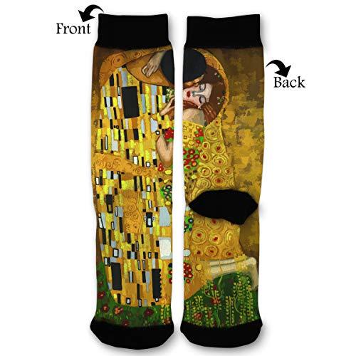 Fashion Travel Breathable Socks Gustav Klimt Kisses Men & Women Running Casual -