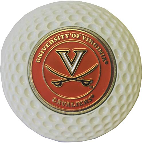 Virginia Cavaliers Golf Ball Marker in Acrylic Golf Poker CHIP Gift IDEA UVA