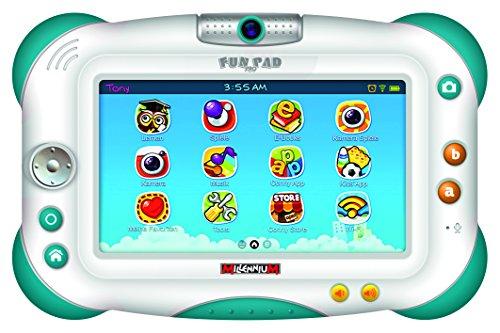 Millennium FunPad Pro 2.0 17,78 cm (7 Zoll) Tablet (1GHz Quad-Core Prozessor, WiFi, 1.3 MP Kamera, MicroSD Slot, TFT Touch-Screen, Android 4.2)