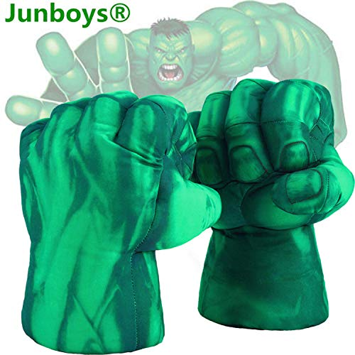 The Hulk Boxing Gloves Smash Hands Fists Incredible Hulk Soft Plush Toys Cosplay...