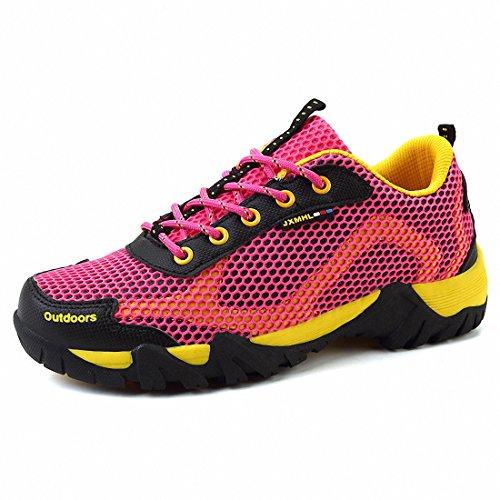 Ben Sports Mujeres Hombres Zapatos al aire libre zapatos de senderismo Rosa