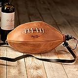 Handmade Football Wineskin - Easy-Care Latex Liner