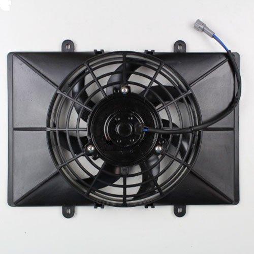 Niche Industries 1517 Yamaha Grizzly 660 Radiator Cooling Fan Shroud Assembly 2002-2008 (Radiator Cooling Fan Shroud)