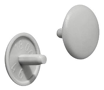 Abdeckkappen für PZ 2 Schrauben Ø 12 mm 50 Stück