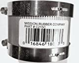 No Hub Pipe Coupling - C215C 	2'' C.I. to 1-1/2 C.I.