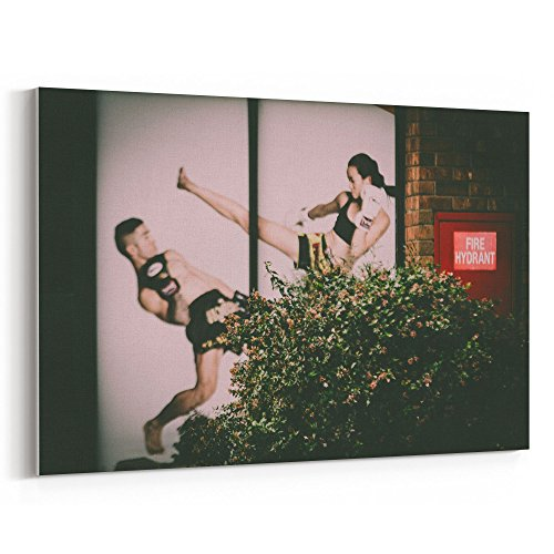 Westlake Art Art Bush - 12x18 Canvas Print Wall Art - Canvas Stretched Gallery Wrap Modern Picture Photography Artwork - Ready to Hang 12x18 Inch (Fight Club Costume Design)