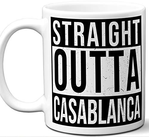 Comforter Casablanca - Casablanca Morocco Souvenir Gift Mug. Unique