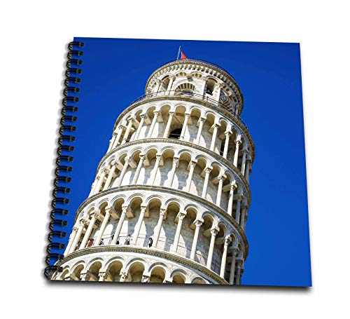 3dRose Danita Delimont - Tuscany - The Leaning Tower of Pisa, Pisa, Tuscany, Italy - Memory Book 12 x 12 inch (db_313745_2)