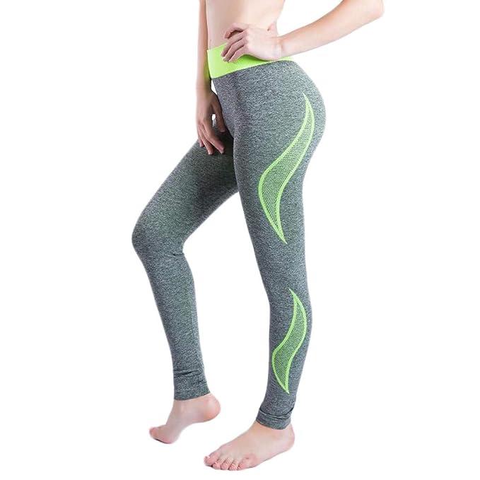 Longra 🌳 🌳 🌳 🌳 🌳 🌳 🌳💐 Pantalones de Yoga elásticos ...