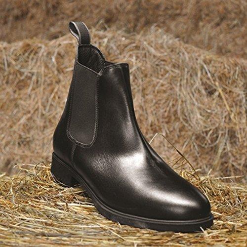 Mark Todd Toddy Zip Junior Jodphur Boots - Black or Brown Black m7tgcnI8d