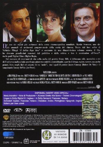 Quei Bravi Ragazzi Dvd 2002 Robert De Niro Joe Pesci Ray Liotta Paul Sorvino Lorraine Bracco Martin Scorsese Robert De Niro Joe Pesci Movies Tv