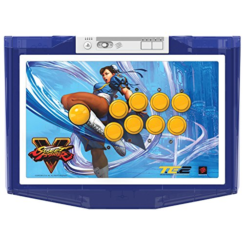 Mad Catz Street Fighter V Chun-Li Arcade Fight Stick Tournament Edition 2 for PlayStation 4/3 ()