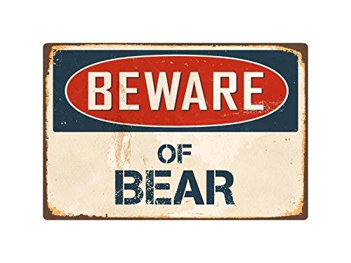 (StickerPirate Beware of Bear 1 8