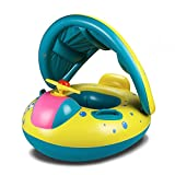 GFun Baby Inflatable Water Floats with Adjustable Canopy - Best Reviews Guide