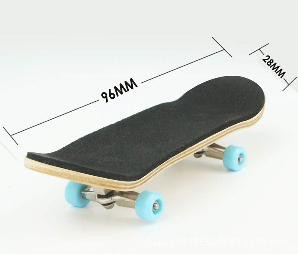Black//White Exodus Brand Logo X-Wide 33mm Fingerboard Deck