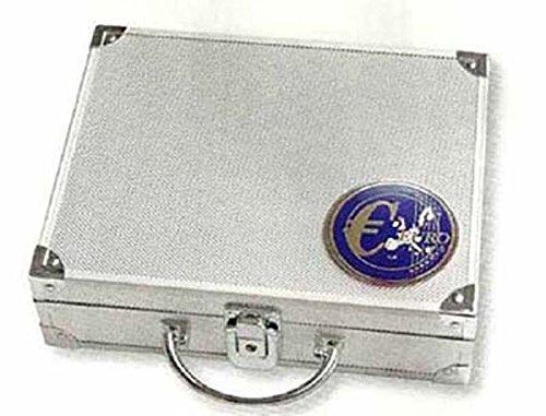 Safe 177 M/ünzenkoffer f/ür alle Euro M/ünzen