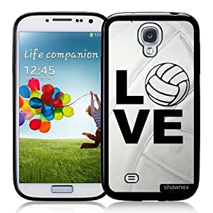 Galaxy S4 Case - S IV Case - Shawnex Volleyball Love Heart Volleyball Player Samsung Galaxy i9500 Case Snap On Case