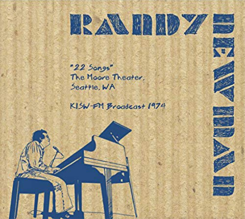 22 Songs - The Moore Theater,Seattle 1974
